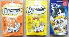 Dreamies Felix Cat Treat Food - Variety Mix - Mix Cheese, Chicken