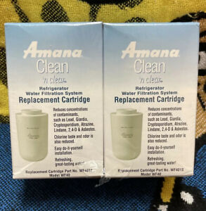 Amana Clean 'N Clear WF401S Refrigerator Water Filter Replacement Cartridge WF40