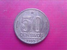 BRAZIL        50 CENTAVOS  1955    APR07