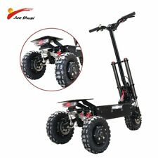 Off Road King Electric Scooter 3*1600w Motors Wheels Folding E Scooter 80km/h