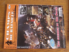 17$$ Revue Champs de Bataille n°41 Guerres du Roi Soleil / Paraguay / Turc-Egypt
