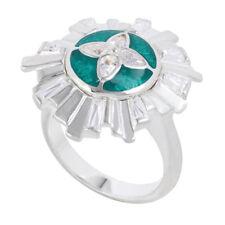 "- Size 9 *New* Originally $99 Kameleon Authentic Silver ""Art Deco Ring"" (Kr043)"