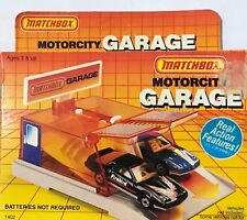 Matchbox Motorcity Garage - Vintage 1985 - Sealed