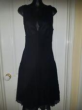 Cute ESPRIT black silk dress. Size 10. Party Races Cocktail Party