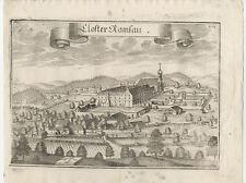 Kloster Ramsau/bei Haag. - Kupferstich von Michael Wening, um 1750