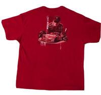 Budweiser Dale Earnhardt Jr NASCAR #8 T-Shirt Size L, Chase Authentics, Chevy