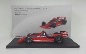 True Scale 1/18 Model Miniature Car F1 Brabham BT46B Alfa Romeo Niki Lauda