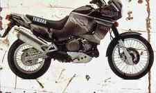 Yamaha XTZ750 supertenere 1995 aged vintage signe A3 grand rétro