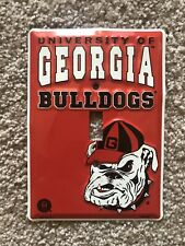 Georgia Bulldogs Bulldawgs Dawgs Lightswitch Cover Outlet Cover Official