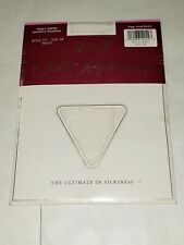 New Hanes Silk Reflections Silky Sheer White Pantyhose Size AB