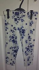 F&F Floral Leggings (2-16 Years) for Girls