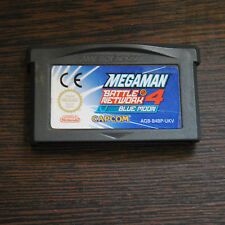Jeu MEGA MAN BATTLE NETWORK 4 BLUE MOON pour Nintendo Game Boy Advance GBA