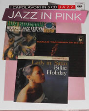 JAZZ IN PINK   Fitzgerald - Vaughan - Holiday 3 CD NUOVO
