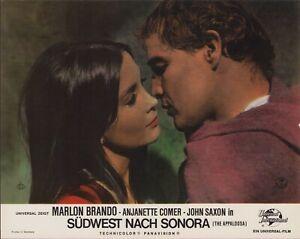 Südwest nach Sonora Aushangfoto / Filmplakat Anjanette Comer & Marlon Brando