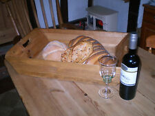 Vintage English Late Victorian Bakers Bread Tray,Antique Pine,Kitchenalia.