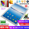"""New Android 10.1"""" Tablet PC 8+256G/512G LTE GSM Wifi Octa-Core Dual SIM Phablet"""