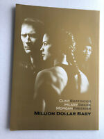 "movie souvenir program ""Million Dollar Baby"" Clint Eastwood, Morgan Freeman【M04】"