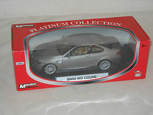 Mondo Motors Miniatura de Metal - 1:18 Escala - BMW M 3 Coupé Emb.orig - E97?