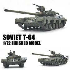 SOVIET T-64 1/72 tank model finished non diecast MODEL COLLECT