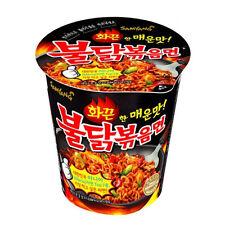 Hot Spicy Chicken Noodle 1Cup x70g BULDAKBOKEUM Korean Fire Noodles Ramen Ramyun