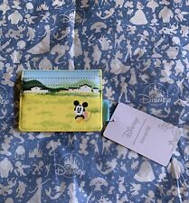Loungefly Mickey And Minnie Fields Id Wallet Nwt
