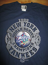 1999 Puma NEW YORK YANKEES World Series Champions (MED) T-Shirt