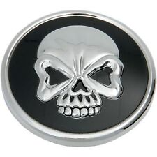 SKULL GAS CAP VENTED FUEL CAP FOR HARLEY XL & BIG TWIN GAS TANK CAP 84-15