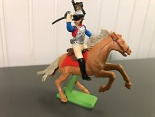 Vintage Britains Deetail French Cuirassier Napoleonic Mounted Soldier Plastic