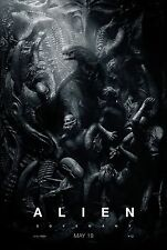 Alien Covenant Movie Poster (24x36) - Michael Fassbender, James Franco v3