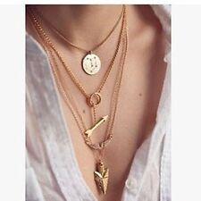 Fashion Charm Jewelry Crystal Choker Chunky Statement Bib Pendant Necklace Gift