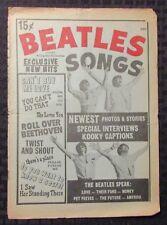 1964 BEATLES Charlton #2 GD+ 2.5 Exclusive New Hit Songs / John Lennon