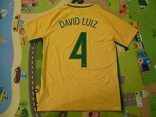 NWT Nike 2016 Copa America Rio Olympics Brazil 4 David Luiz Authentc Jersey (L)