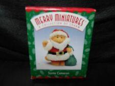 "Hallmark Merry Miniatures ""Santa Cameron"" 1997 Figurine New"