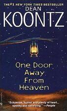 One Door Away From Heaven - Dean Koontz VGC A place of terror & wonder Thriller!