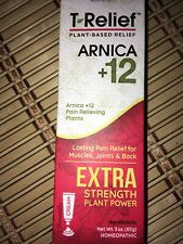 T-Relief Extra Strength With Arnica + 12 Pain Relieving Plants 3 oz cream 2022