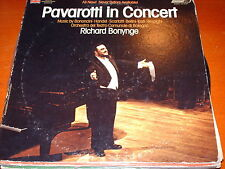 Pavarotti-in Concert-uk Lp 26391 Richard Bonynge