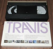 TRAVIS Japan OFFICIAL PROMO ONLY numbered VHS video tape NTSC PV Collection!
