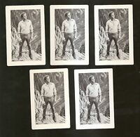 1964  MGM Movie ~ The Unsinkable Molly Brown HARVEY PRESNELL ~ 5 Cards ~NM-MINT