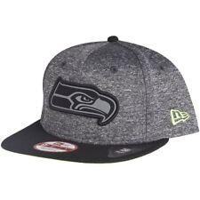 New Era 9Fifty Snapback Cap - GREY Seattle Seahawks