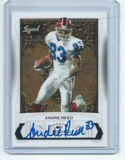 2016 Panini Classics FB Recollection Collection Andre Reed Bills AUTO #1/10!!!
