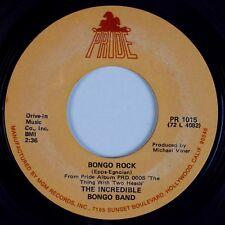 INCREDIBLE BONGO BAND: Bongo Rock PRIDE Soul Funk Breaks 45 HEAR