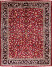 Vintage All-Over Floral Area Rug Oriental Carpet Vegetable Dye Handamde 10'x13'