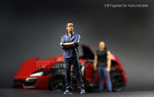1/18 FF Fast & Furious Resin Figure Brian 1 piece for Auto Models