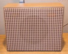 """1960s ARGUS Speaker Cabinet - 8"""" Speaker Quam 8A10X Full Range Speaker"""