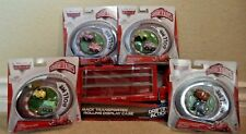 Disney Cars Micro Drifters Mack Rolling Display Case w/ vehicles Transberry +