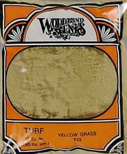 Model Train Scenery - Small Pack of Yellow Grass T43 - suit School Projects