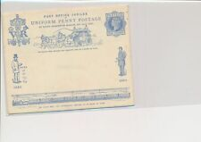 LM68683 Great Britain 1890 postal stationery good cover used