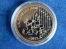 MEDAILLE / Medal - L'EUROPE DES XXVII - 2013 - ESSAI - FDC / UNC