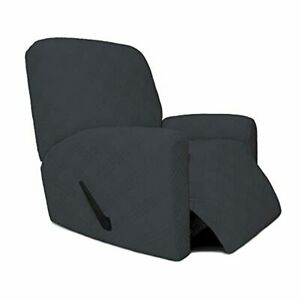 Easy-Going Stretch Recliner Sofa Cover, 4 Pieces Couch Cover for Recliner, Styli