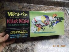 Weird-ohs Car-icky-tures Killer McBash, The Dazzling Decimator,  Free Ship
